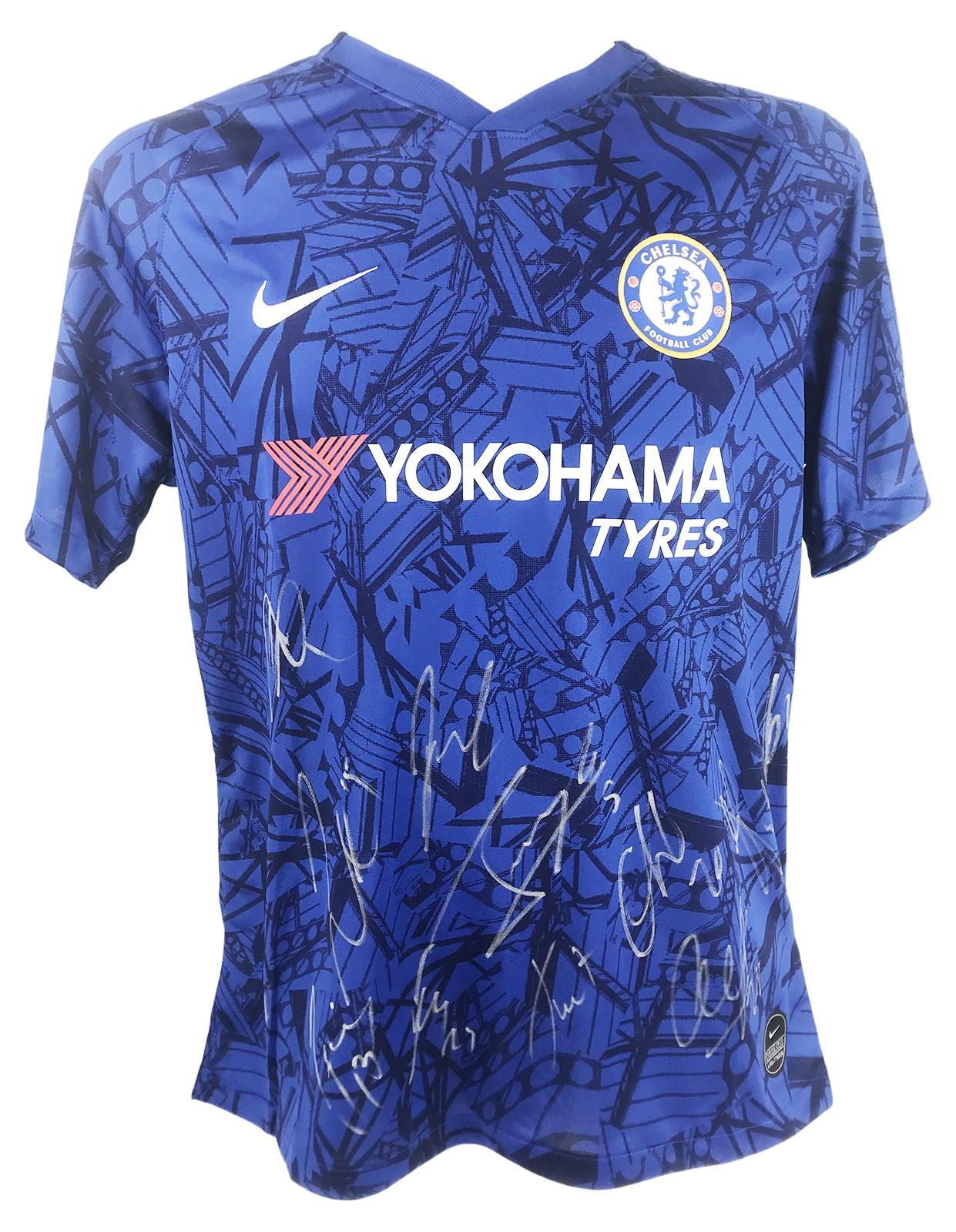 Signed Chelsea Fc Jersey Premiership Squad 2020 Shirt Firma Stella