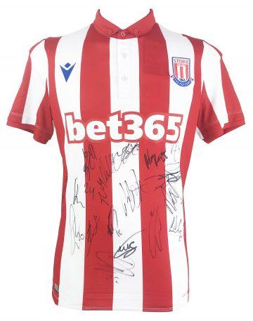 Signed Stoke City Memorabilia