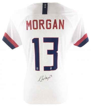 Alex Morgan Signed Memorabilia