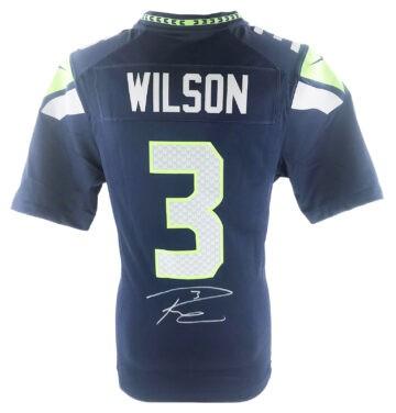 Russell Wilson Signed Memorabilia