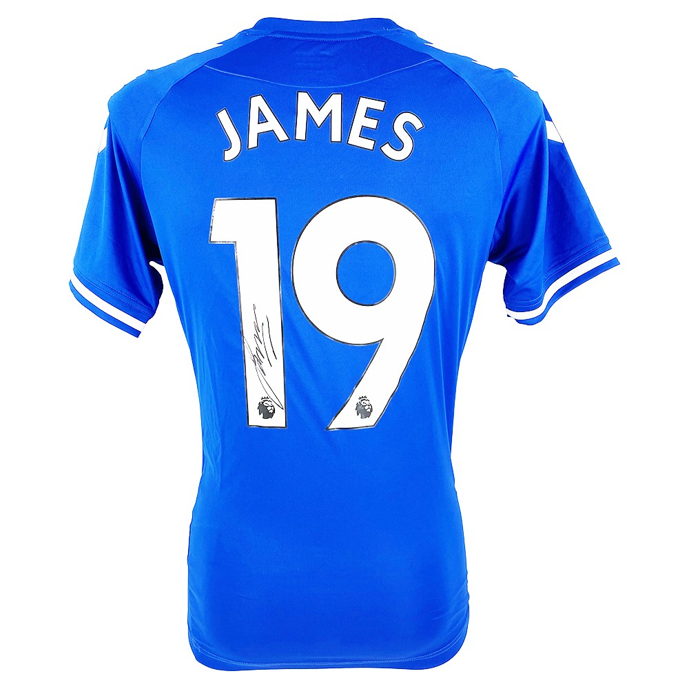 James Rodríguez Autograph - Signed Everton FC Jersey 2021