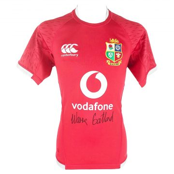 Signed Warren Gatland Jersey - British & Irish Lions Shirt 2021