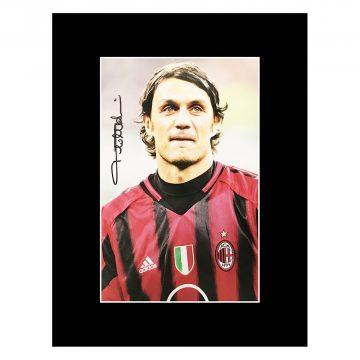 Paolo Maldini Signed Memorabilia
