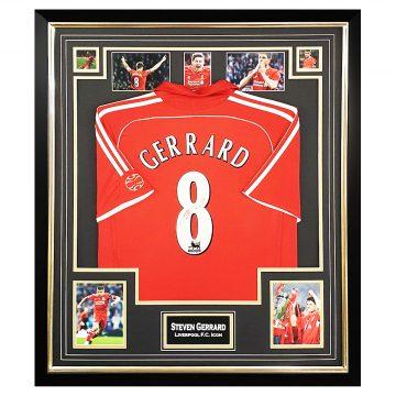 Steven Gerrard Signed Memorabilia