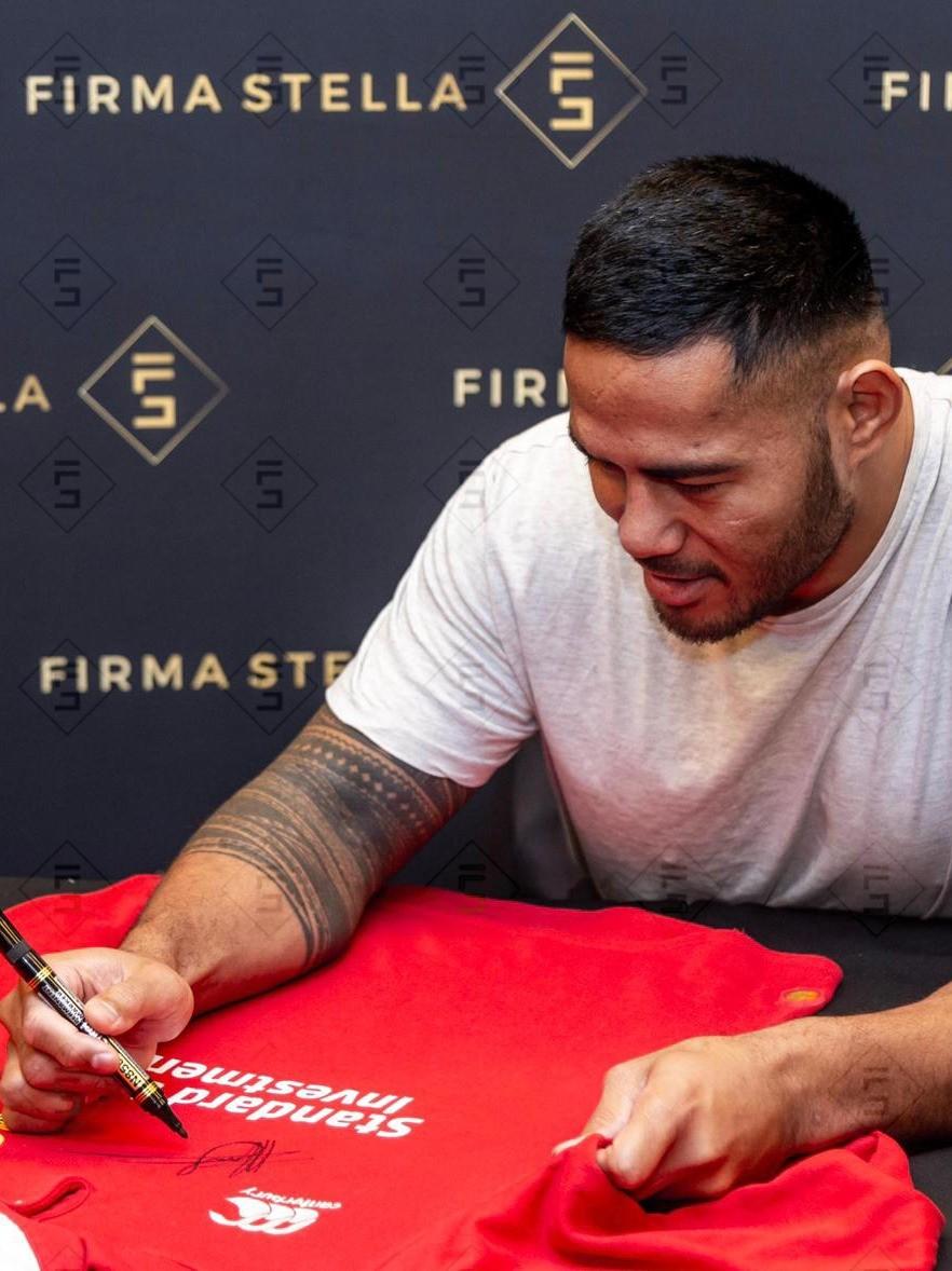 Manu Tuilagi signs for Firma Stella