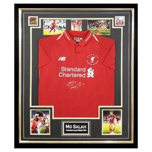 Mo Salah Signed Shirt