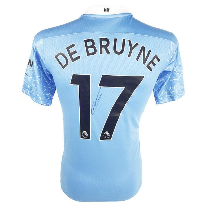Kevin De Bruyne Signed Memorabilia