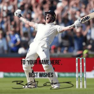 Ben Stokes Signed Memorabilia